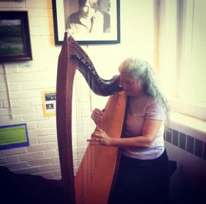 07.10 Harpist