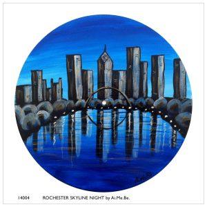 14004_Rochester Skyline Night