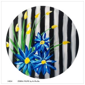 14024_Zebra Mums