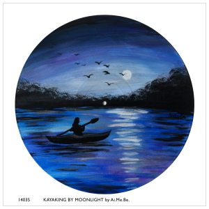 14035_Kayaking by Moonlight