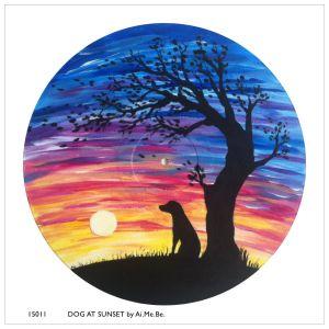 15011_Dog at Sunset