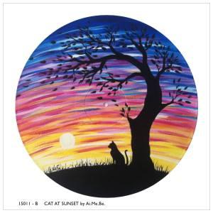 15011B_Cat at Sunset