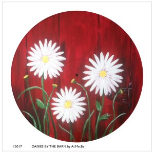15017_Daisies by Barn